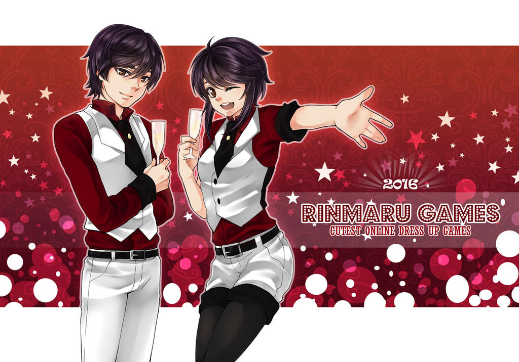 rinmarugames happy new year 2016 january banner by princeofredroses on deviantart