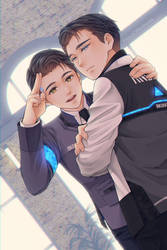 [D:BH] RK1700 HNY2019 photo print card by PrinceOfRedroses