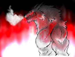 Bloody Werewolf by duducaico