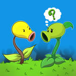 Bellsprout and PeaShooter