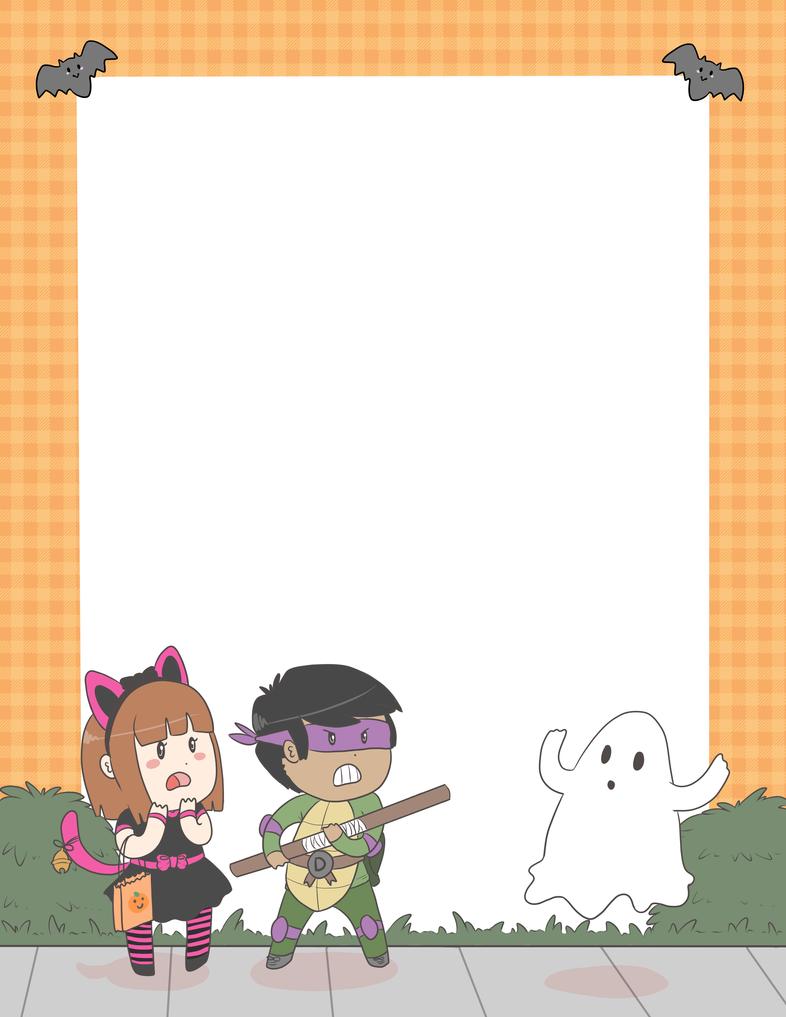 children\'s halloween party invite template by paandur on DeviantArt