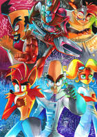 Crash Bandicoot - The Six by Strixic