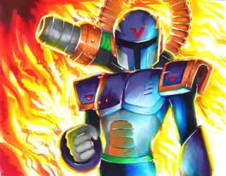 Mega Man X  - Vile by Strixic