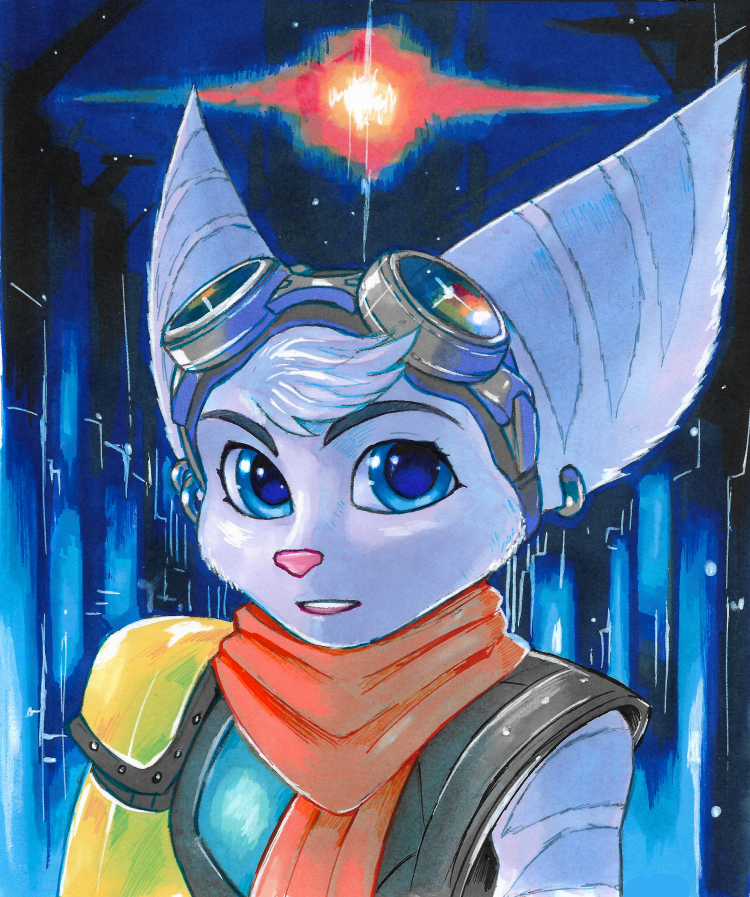 Ratchet And Clank A Rift Apart By Strixic On Deviantart