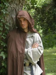 Hooded Figure by JoyfulStock