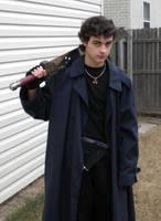 Buster Sword Holder by JoyfulStock