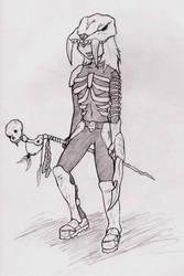 Necromancer by Zwiebel
