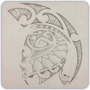 Polynesian Shoulder Piece