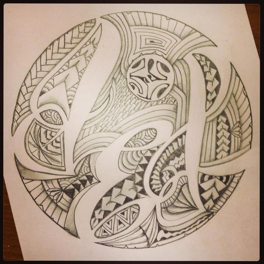 Polynesian Initials By A18cey On DeviantArt