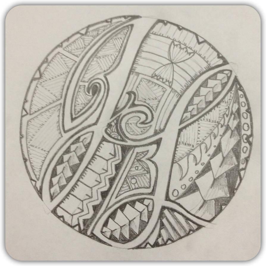 Polynesian initials by A18cey