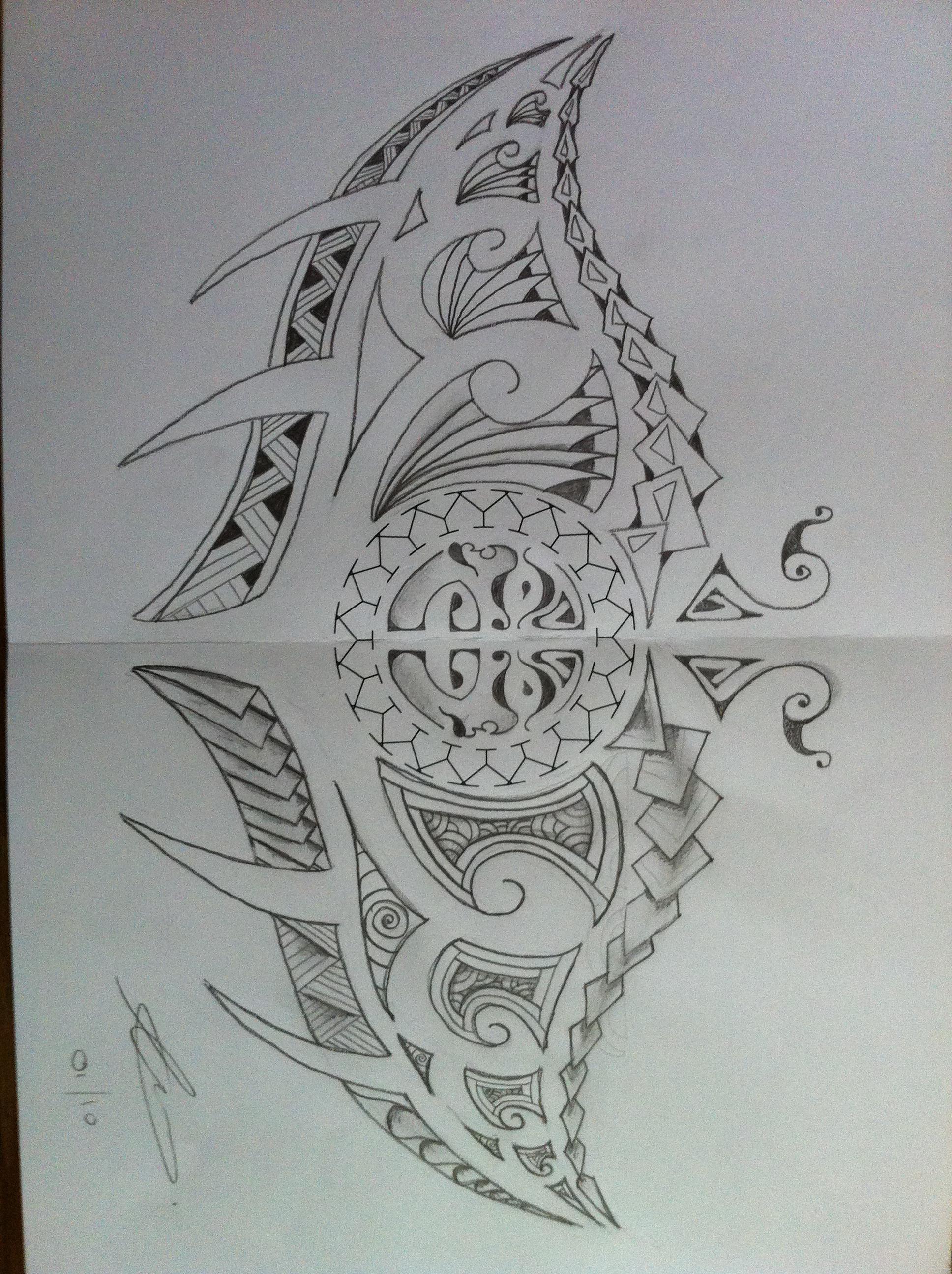 Polynesian Patterns And Designs Stingray