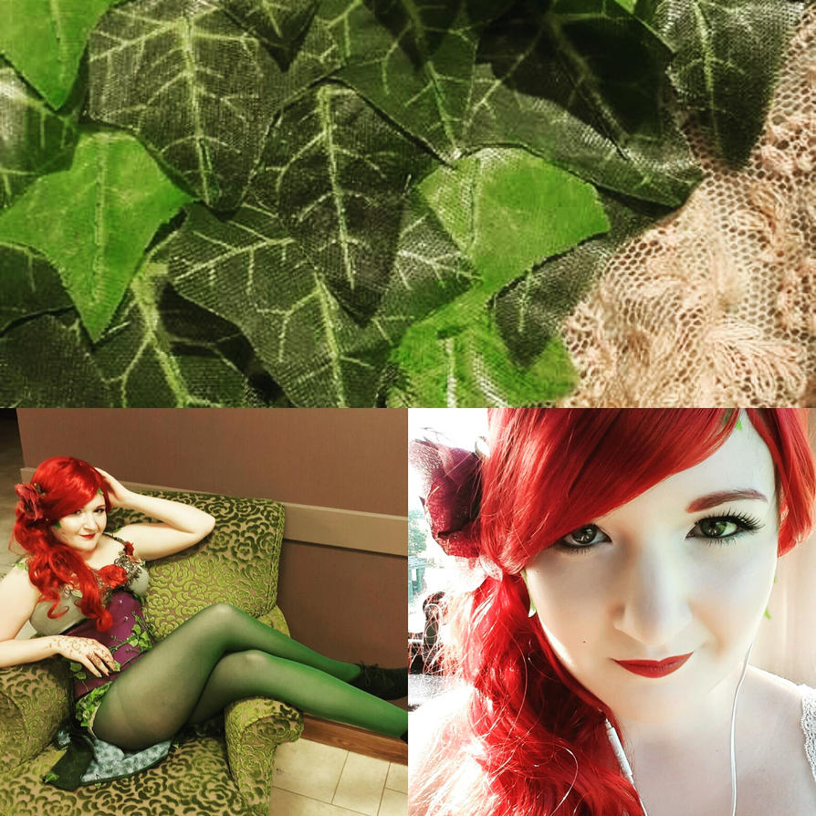 Poison Ivy Cosplay Prototype by Blackeyes1001