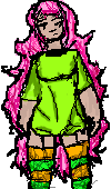 Messy Haired Pixel by wewerebornintoice