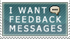 I want feedback stamp by 0netnet0