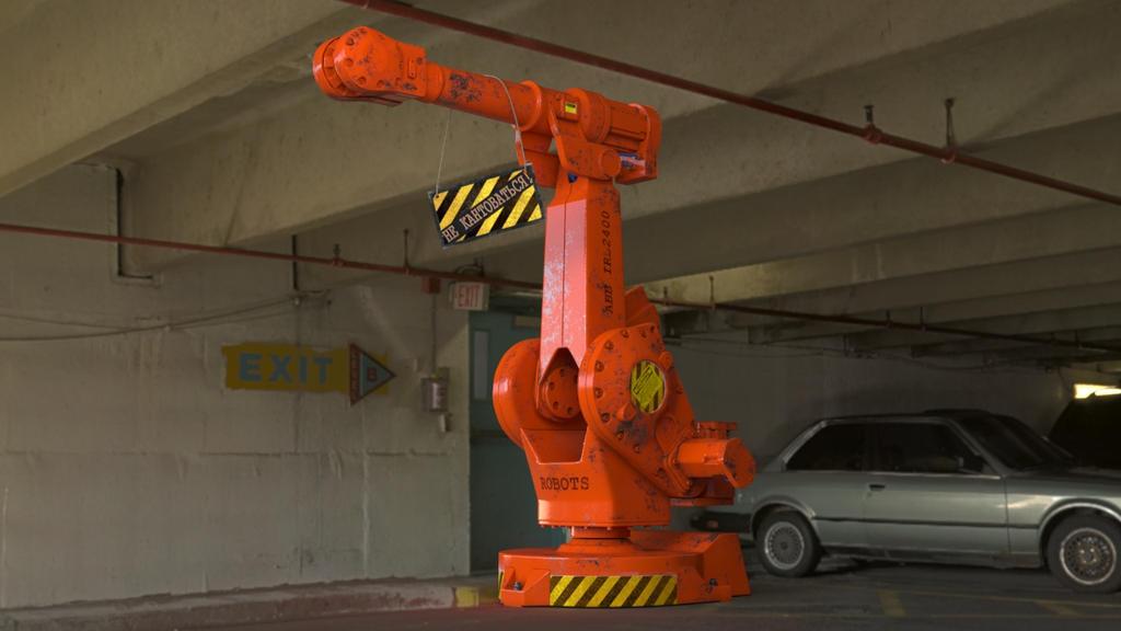 Robot manipulator by viiik33