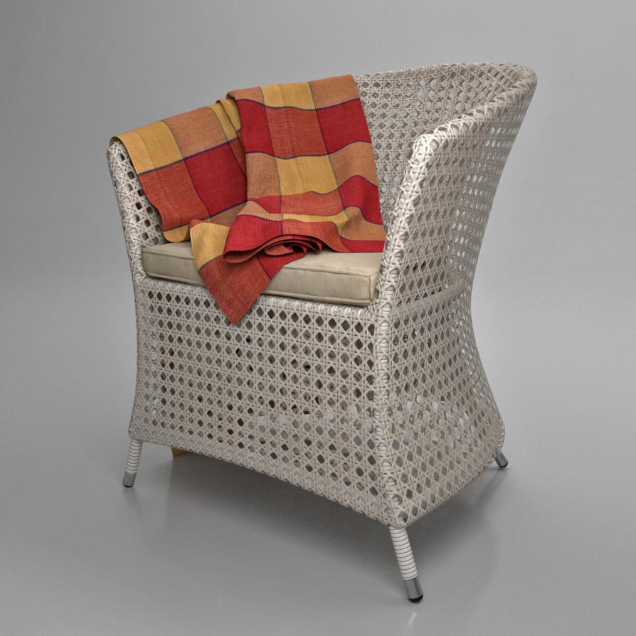 Madeira Armchair made of artificial rattan by viiik33