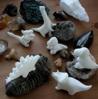 Prehistoric Playground by MiniMynagerie