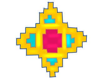 Aztek Jewel Star by Anira