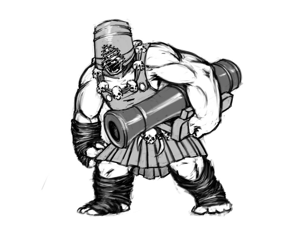 Improvised Pirate by Dudurini
