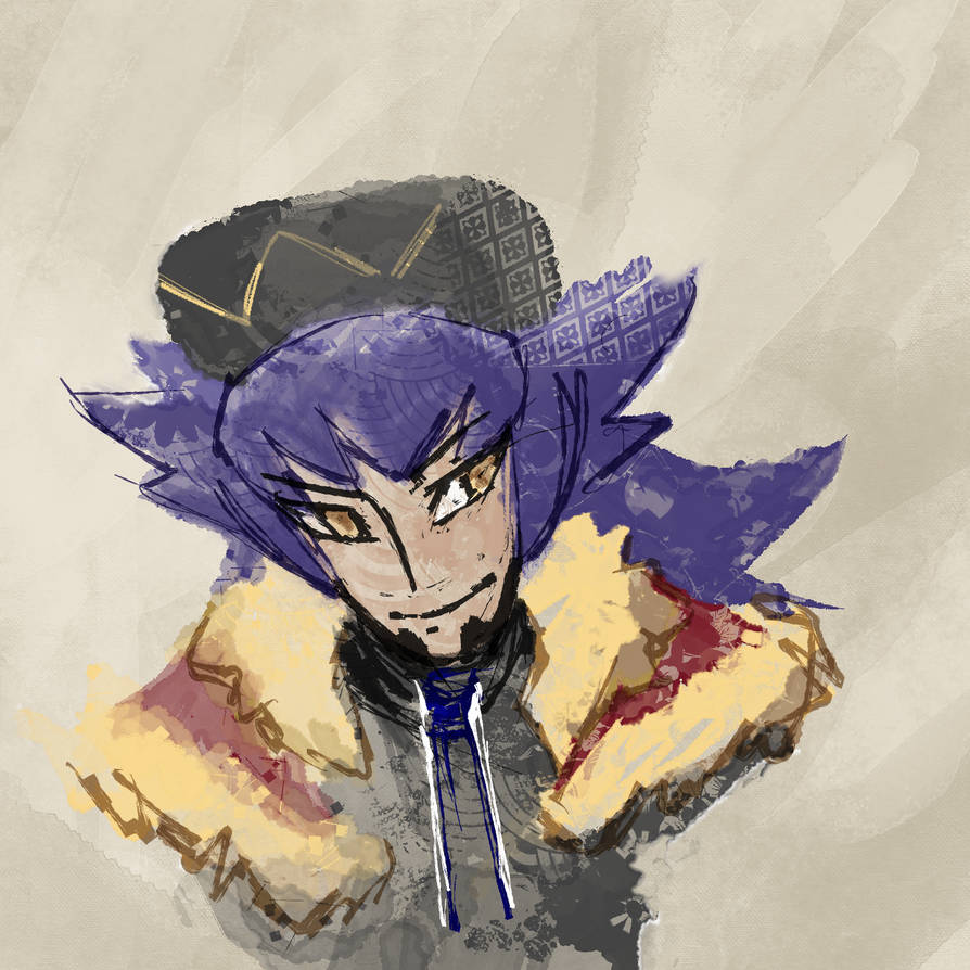 Champion Leon Sketch Pokemon Sword Shield By Dudurini On Deviantart