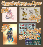 Commissions Infos by Dudurini