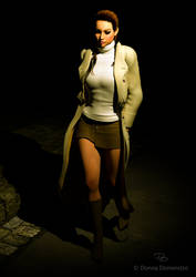 Night Walk by donnaDomenitzo