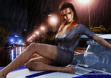 Rainy Night in Georgia by donnaDomenitzo