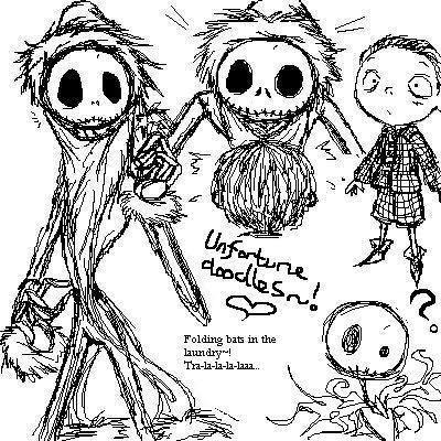 Nightmare scribbles by velvetplum