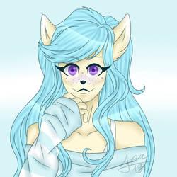 Bleu [gift/fanart]