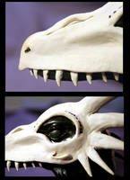Bone Dragon_Details by 1stQueenOfHalloween