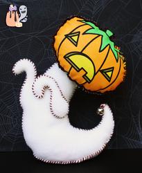 OOAK Halloween Jack Ghost Art Doll by 1stQueenOfHalloween