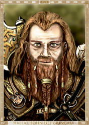 Hallas, Son of Gringalf by LinestyleArtwork