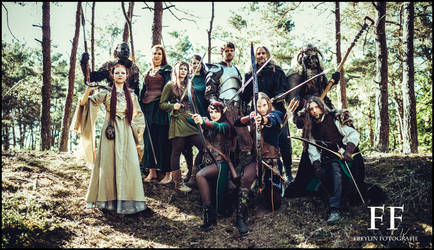 Tolkien Shooting 2018 by LinestyleArtwork