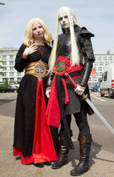 Princess Nuala and Prince Nuada Cosplay by LinestyleArtwork