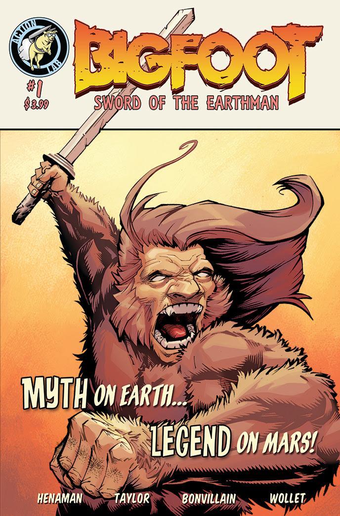 Bigfoot 1 by ANDYTAYLOR-GARBAGE
