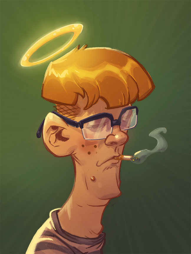 Weird Mall Kid by ANDYTAYLOR-GARBAGE