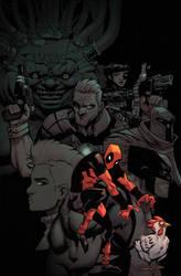 Deadpool, Chicken, Mutants