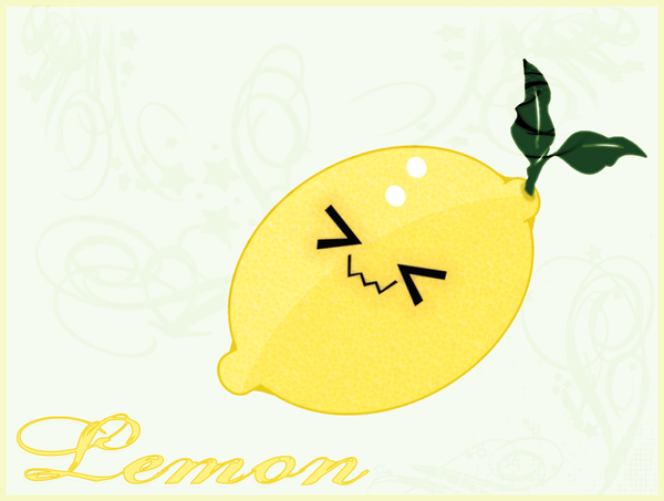 Group Of Lemons Wallpaper Kawaii
