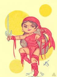 Elektra by Ladymalk