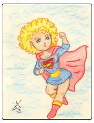 Supergirl by Ladymalk