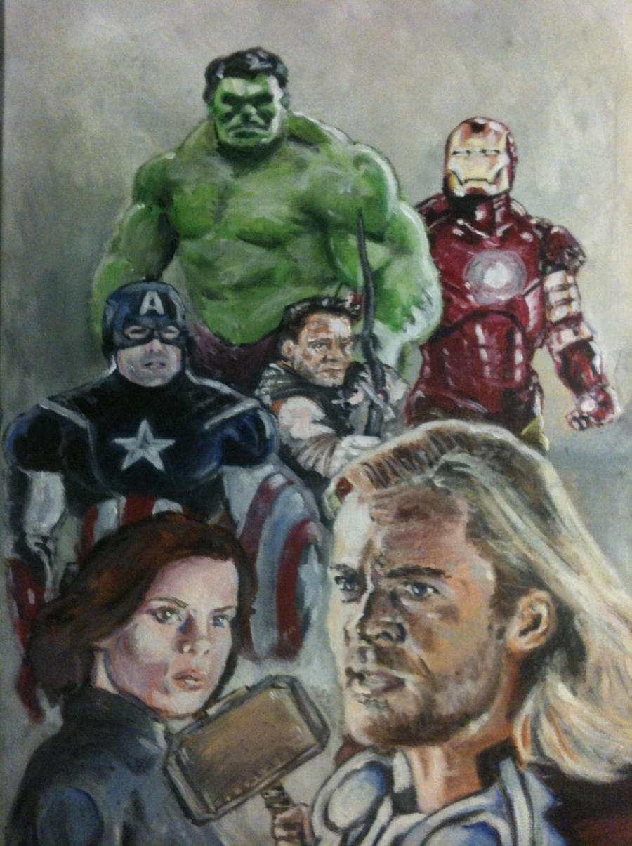 The Avengers by bostonb63