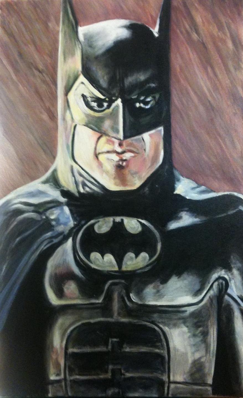 Keaton's Batman by bostonb63