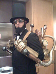 Steampunk Abe Lincoln Costume