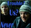 Trouble by Little-Leprechaun
