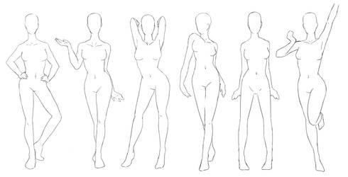 Pose Set #1 Standing Poses