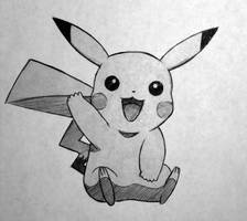 Day #18: Pikachu by Anadia-Chan