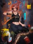 Gamer Girl by Anadia-Chan