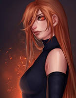 Fire in her Eyes by Anadia-Chan