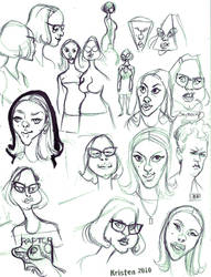 Ghost World doodles by shmisten