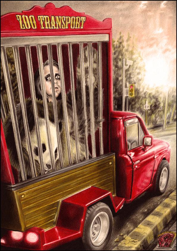 Panda Panic. by dreamarian